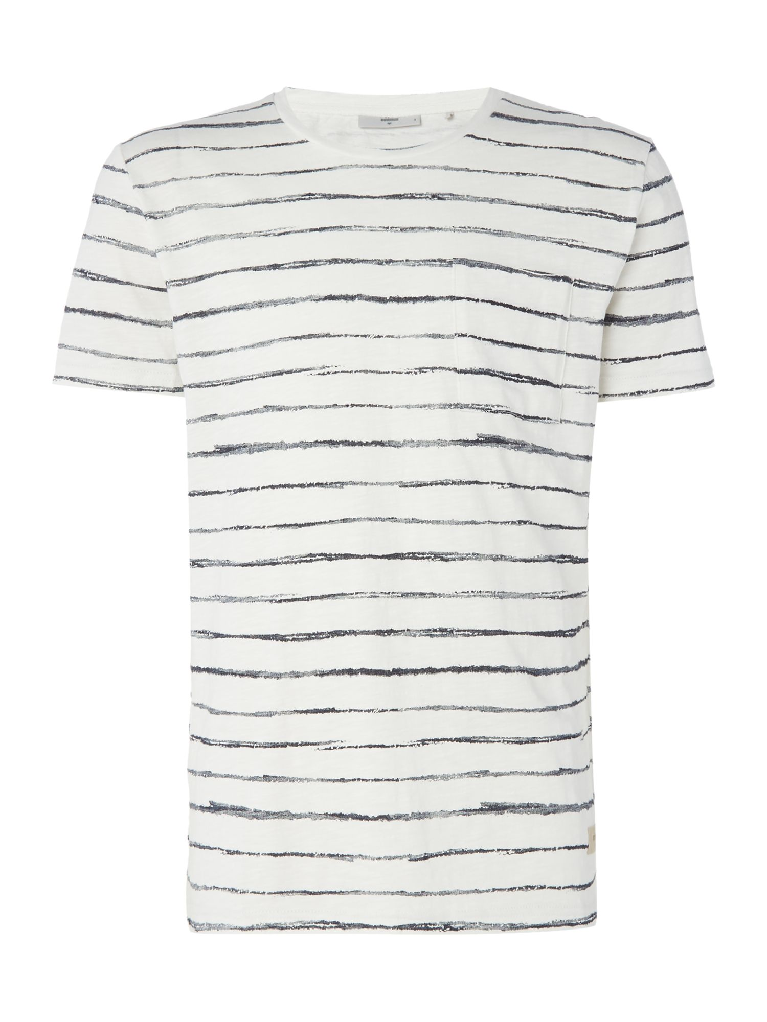 Men's Minimum Stripe T-Shirt, White