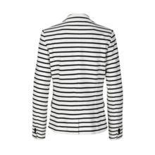 Breton Striped stretchy jacket.