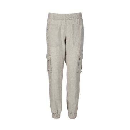 Part Two Linen pocket detail trousers.