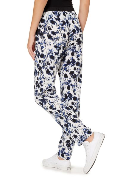 Soaked in Luxury Printed trouser with elastic waist