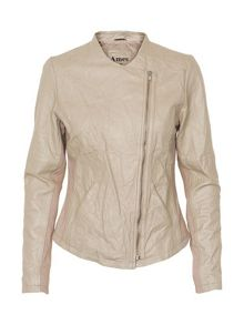 Sidsel leather jacket