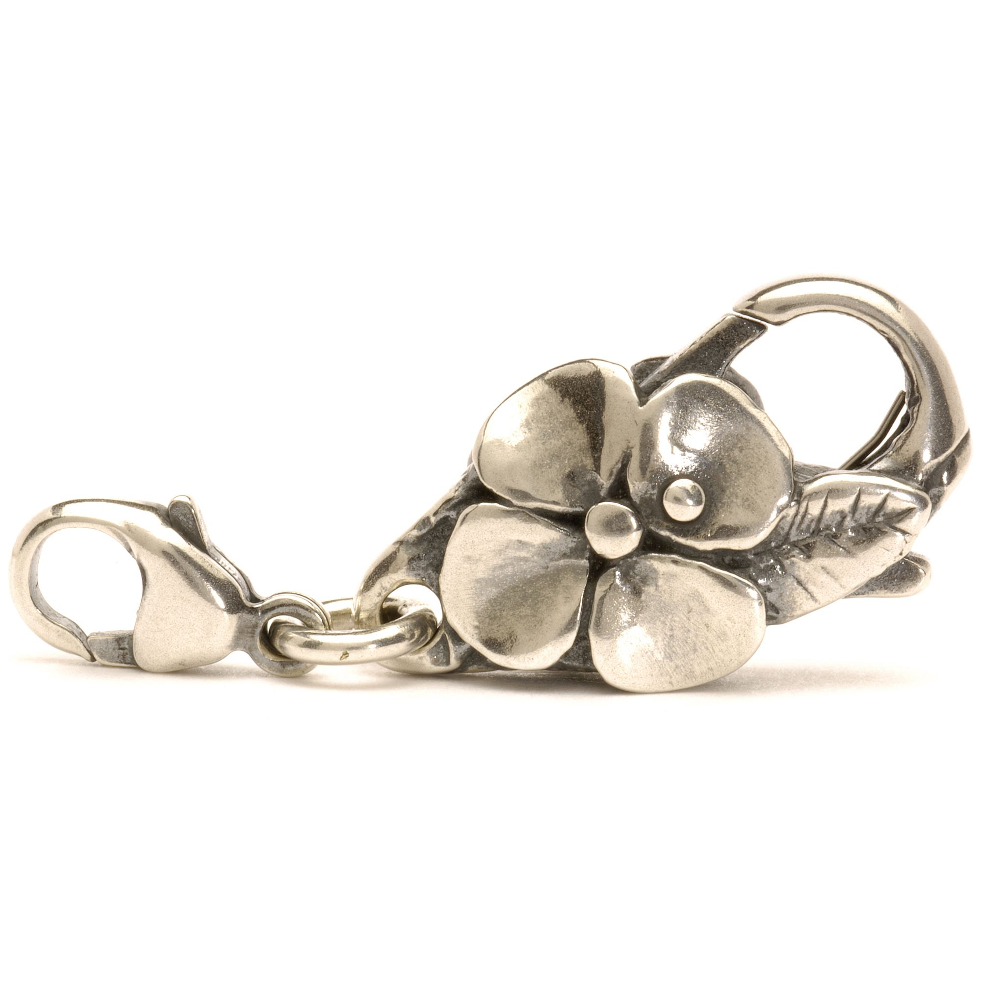 Silver Big Flower Lock