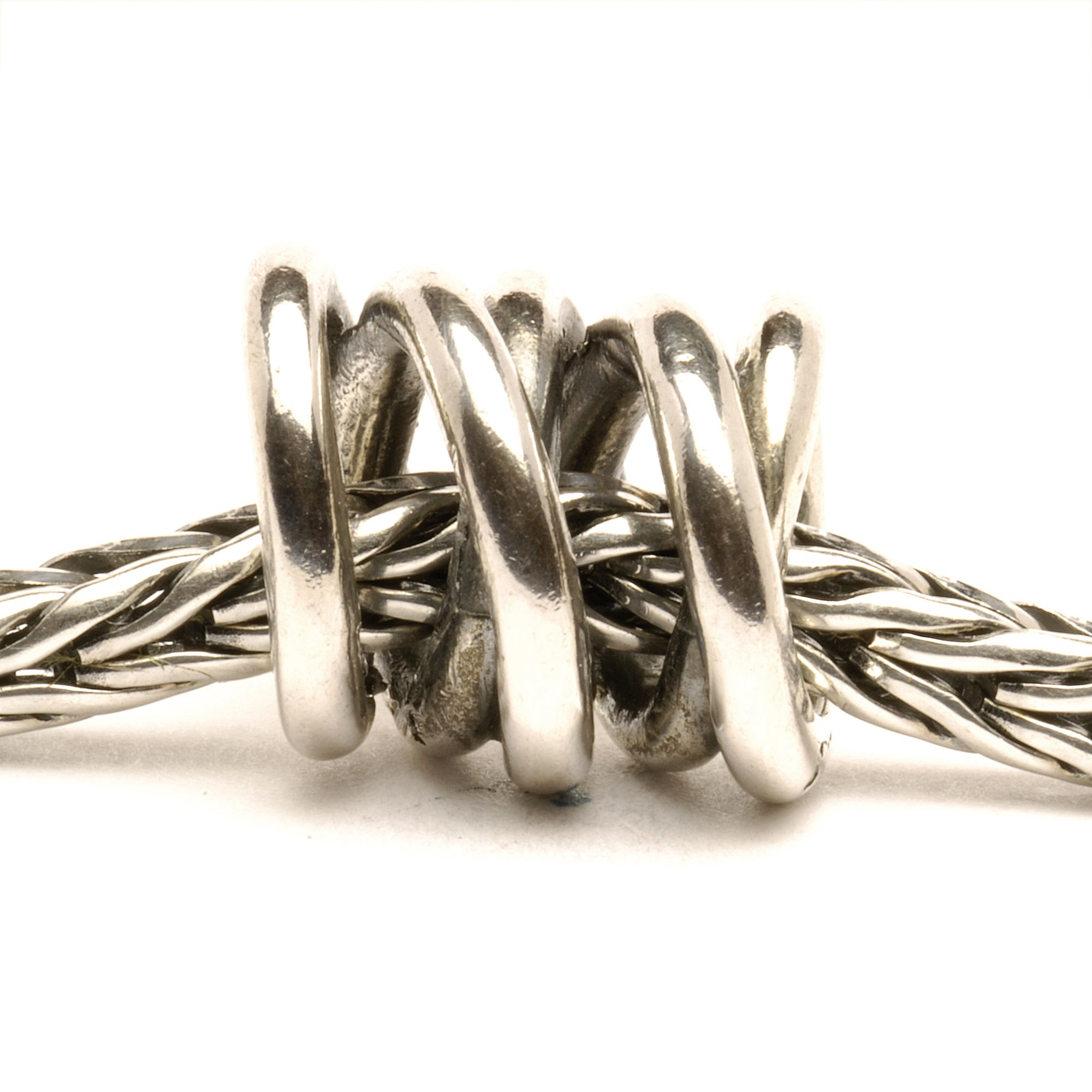 Three Siblings silver charm bead
