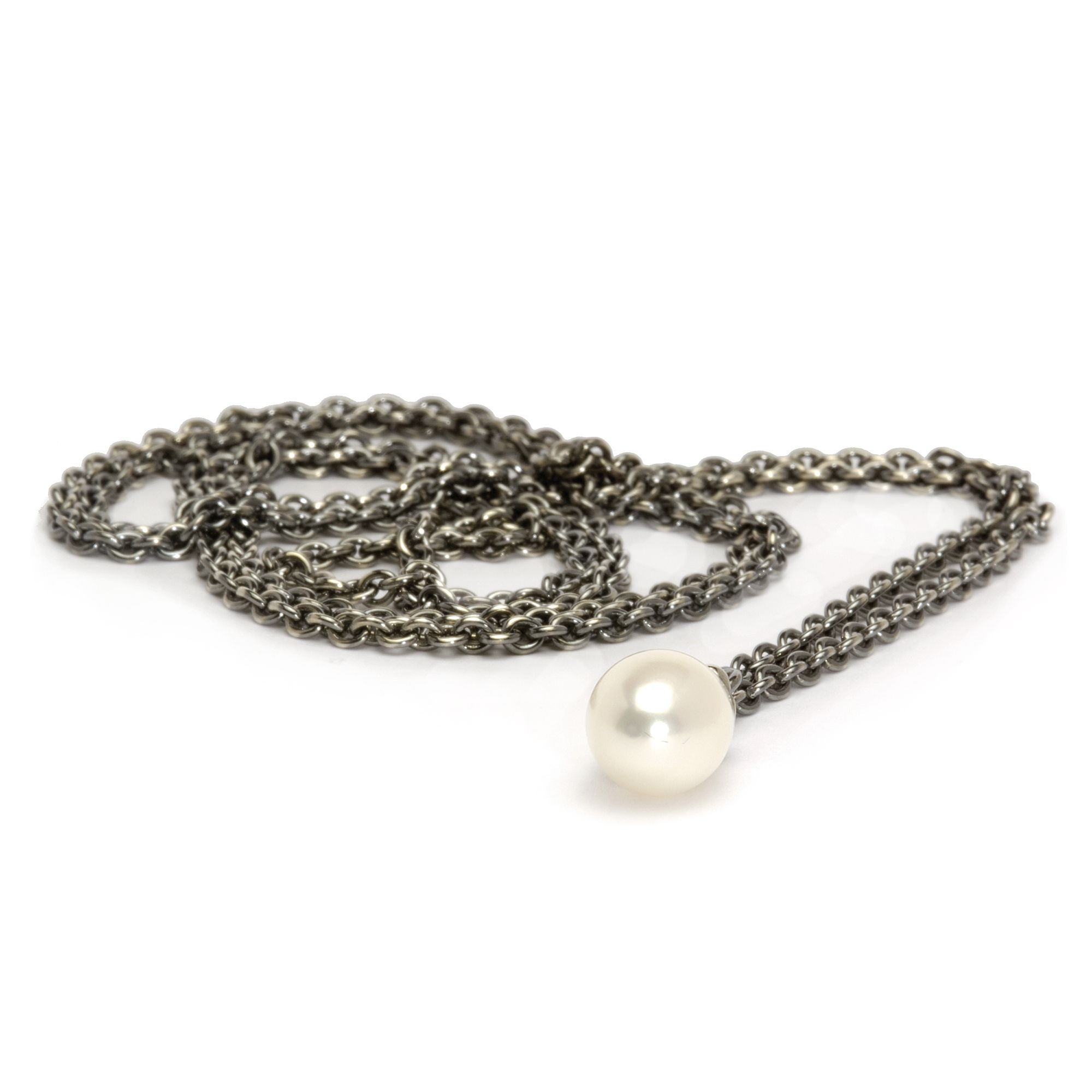Silver Fantasy Pearl Necklace