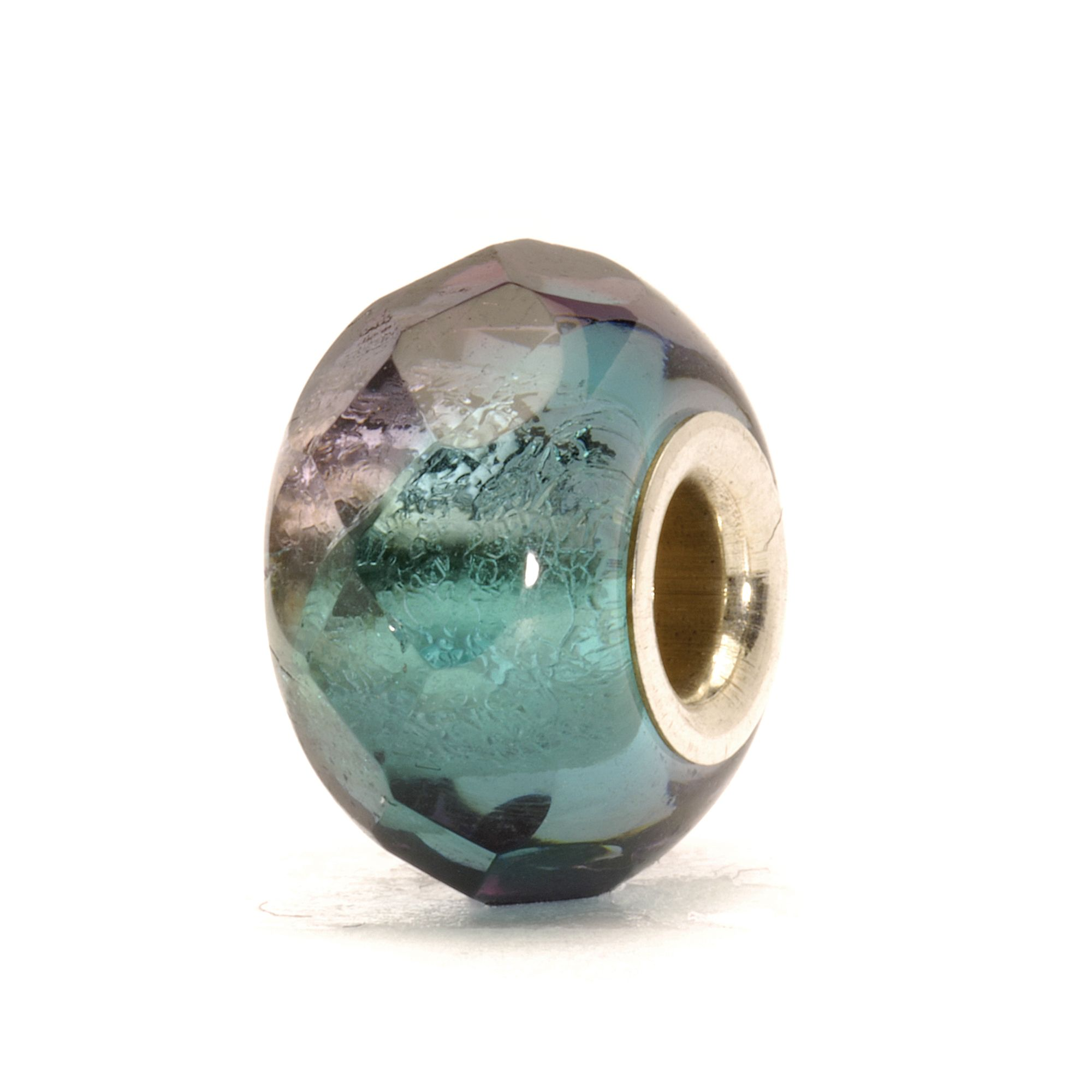 Prism glass charm bead