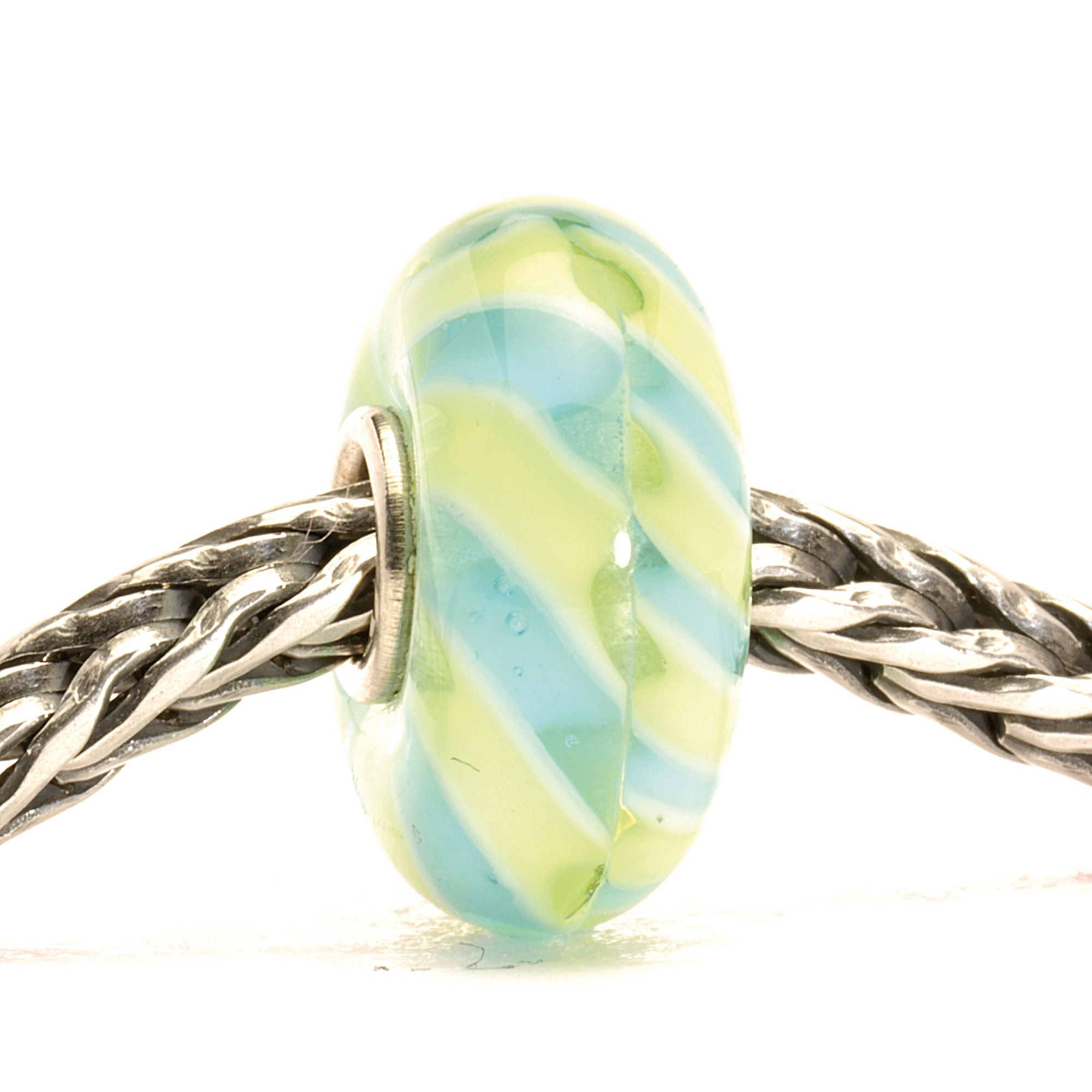 Light Blue Braid Bead