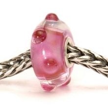 Pink Bud Glass Bead