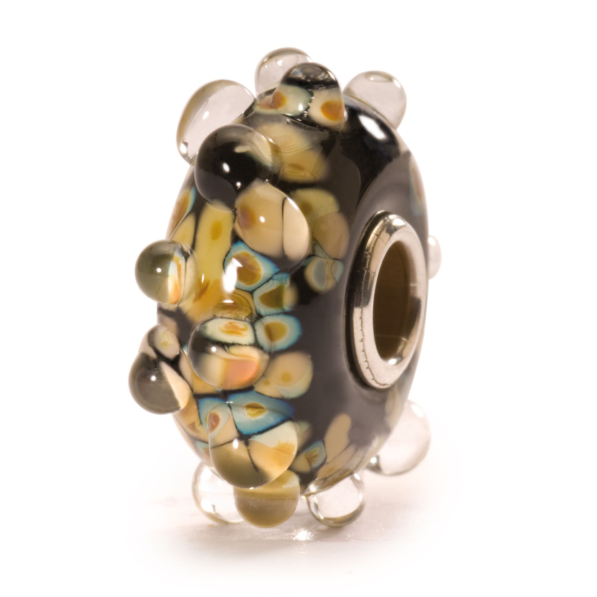 Milan glass charm bead