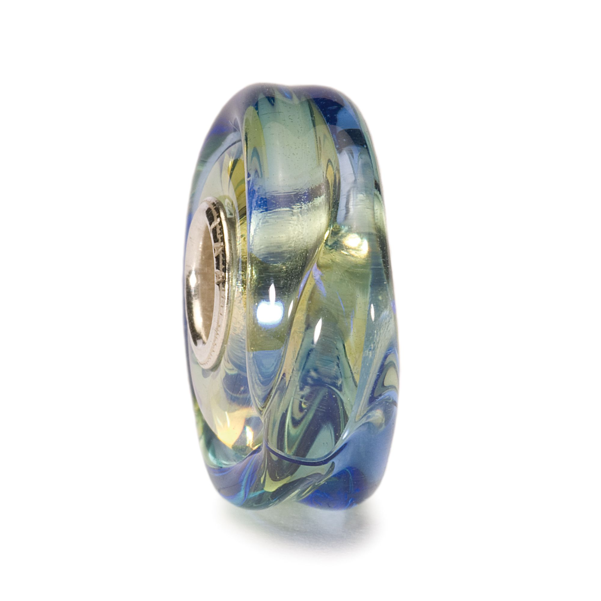 Cool Dusk glass charm bead