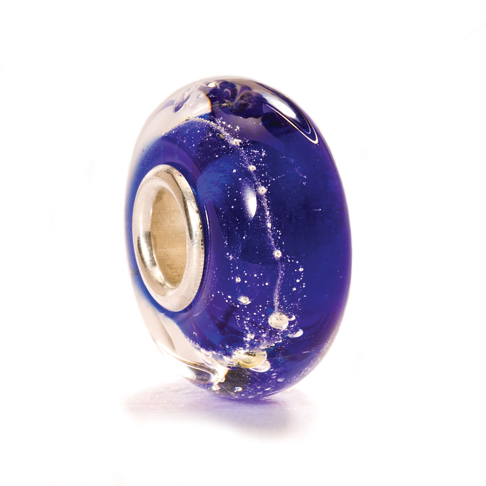 Milky Way glass charm bead