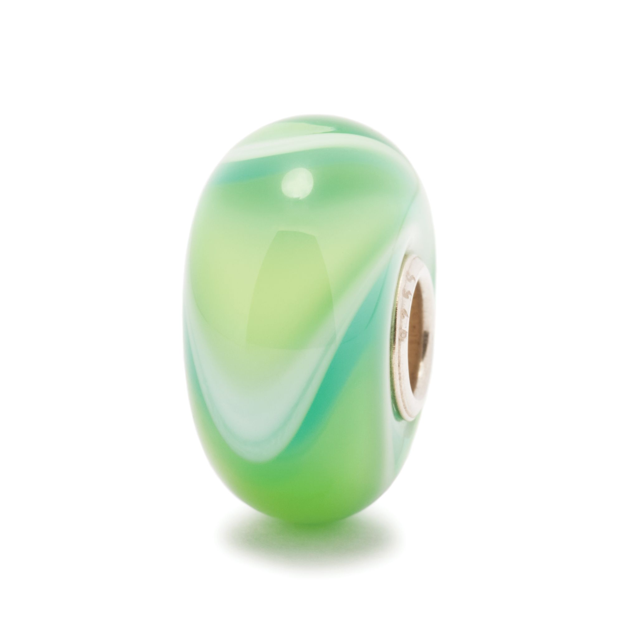 Armadillo glass charm bead