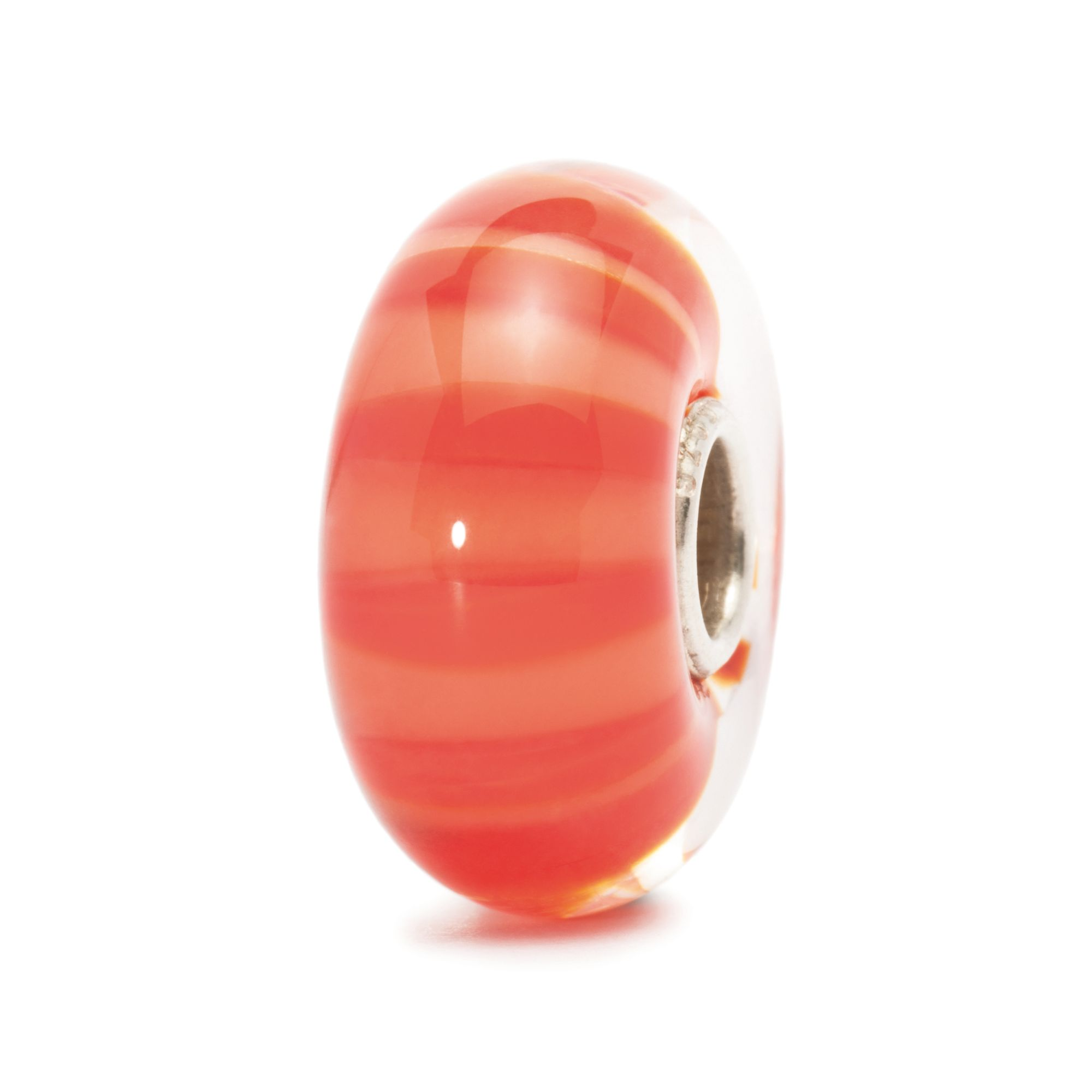 Peach Stripe Bead