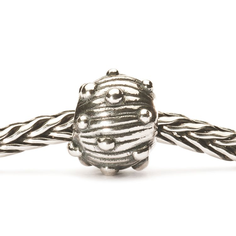 Silver Sea Urchin Bead