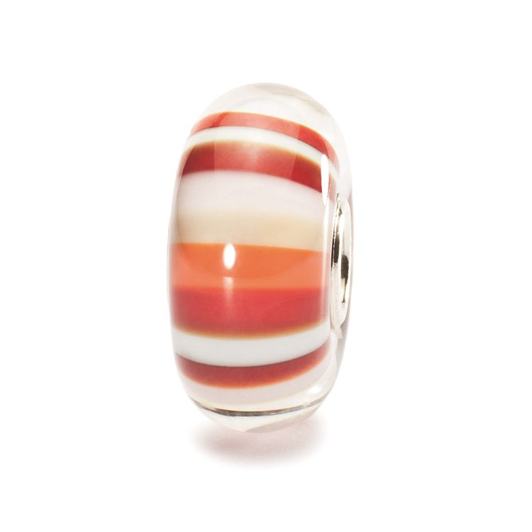 Strawberry Stripes Bead