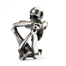 Trollbeads Skeleton Spirit Bead
