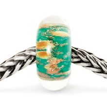 Oasis sterling silver & murano glass charm bead