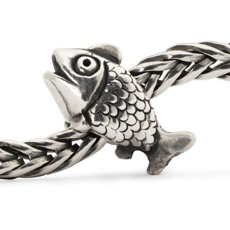 Jewel fairy basslet sterling silver charm bead
