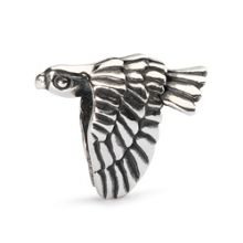 Falcon sterling silver charm bead