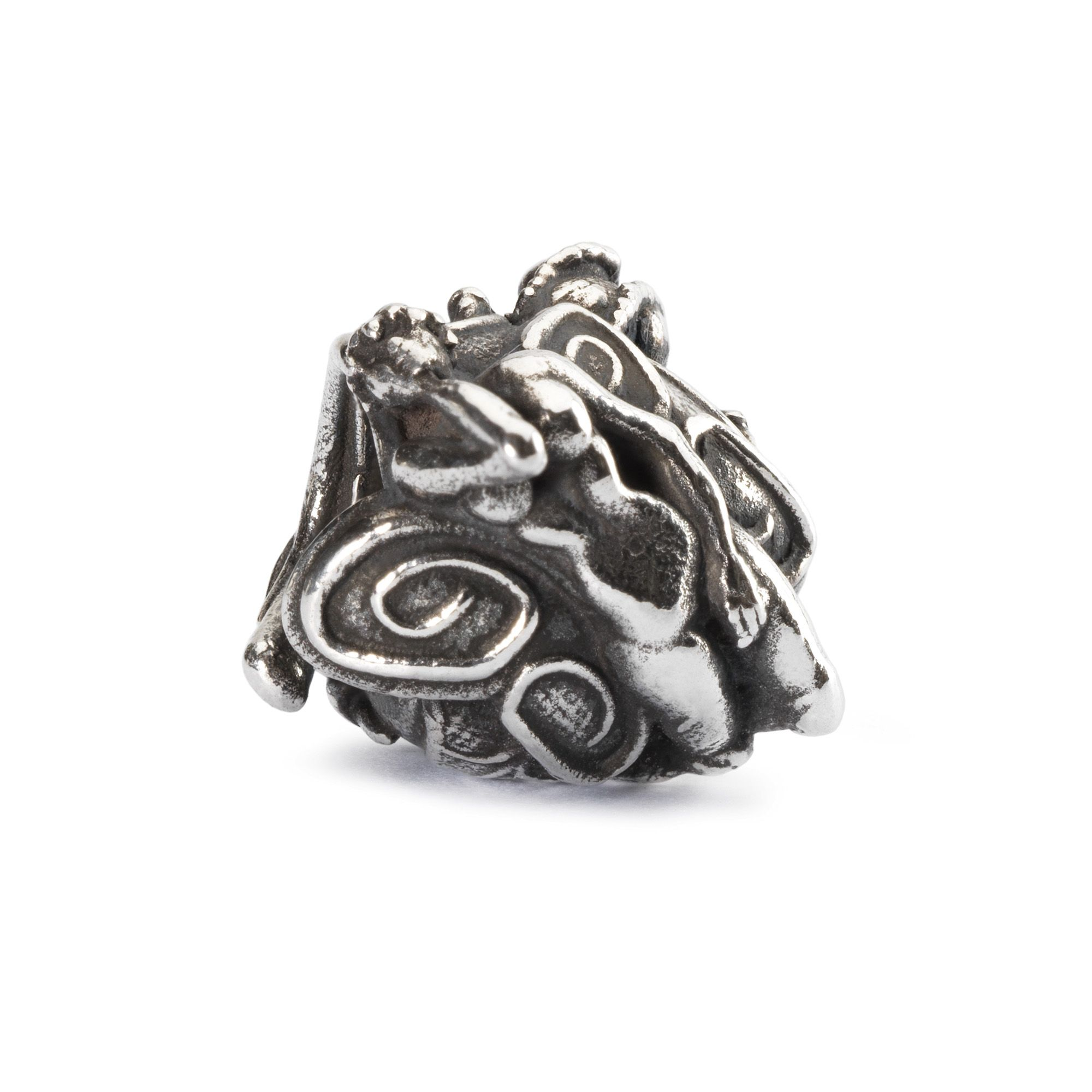 Babylonian nymph sterling silver charm bead