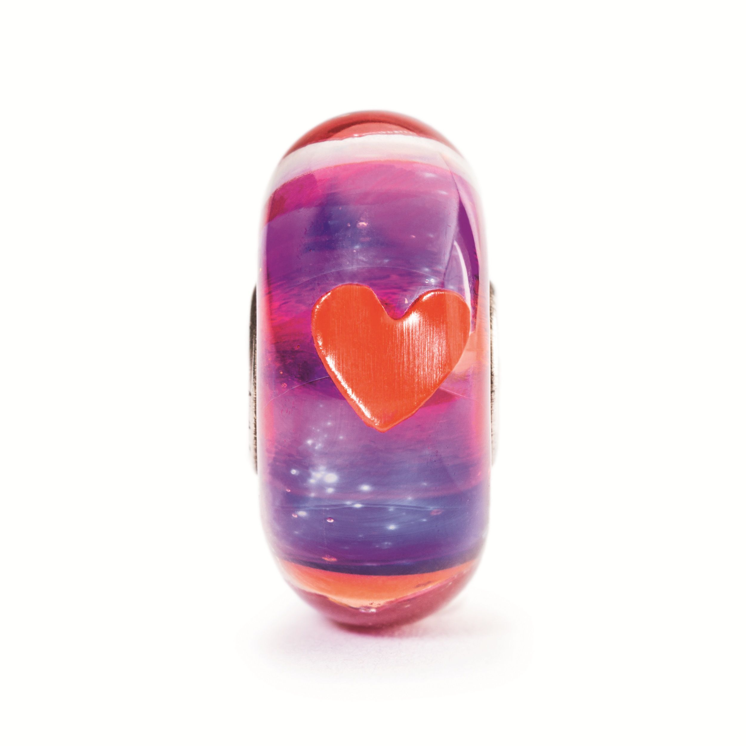 Be my valentine murano glass charm bead
