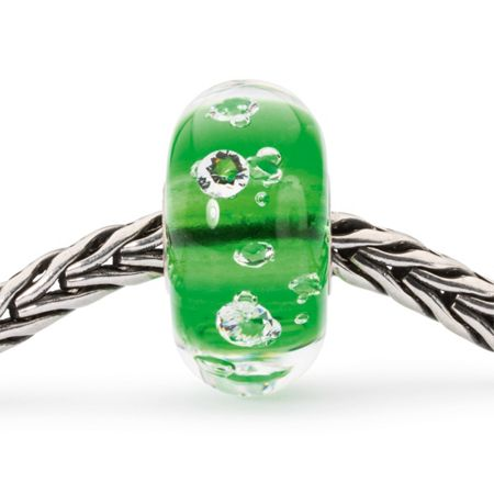 Trollbeads The diamond bead, emerald green