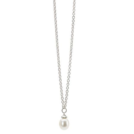 Trollbeads The Pearl Necklace & Earring Set 1cm