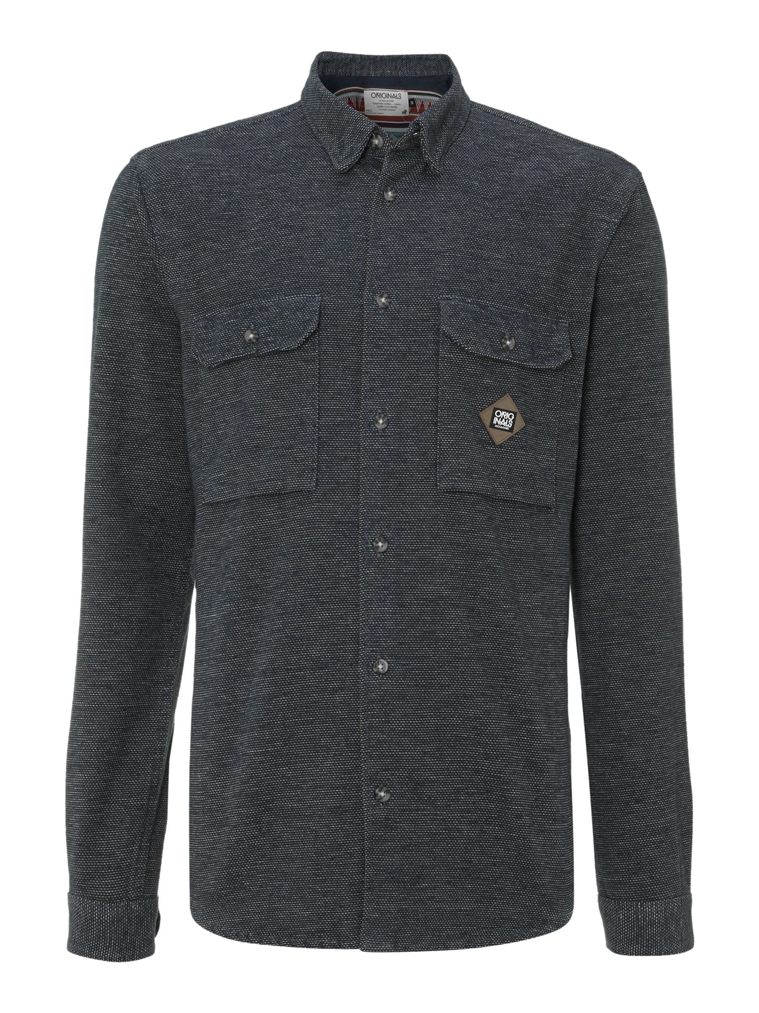 Heavy weight textured shirt