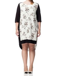 Plus Size Calca Shift Dress