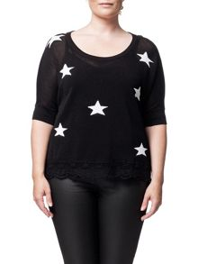 Leighton Star 3/4 Sleeve Top