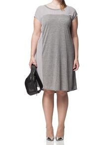 Plus Size Bow T-Shirt Dress