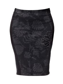 Carmakoma Kilki Denim Pencil Skirt