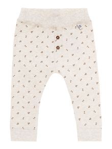 Babys all over music print jogger