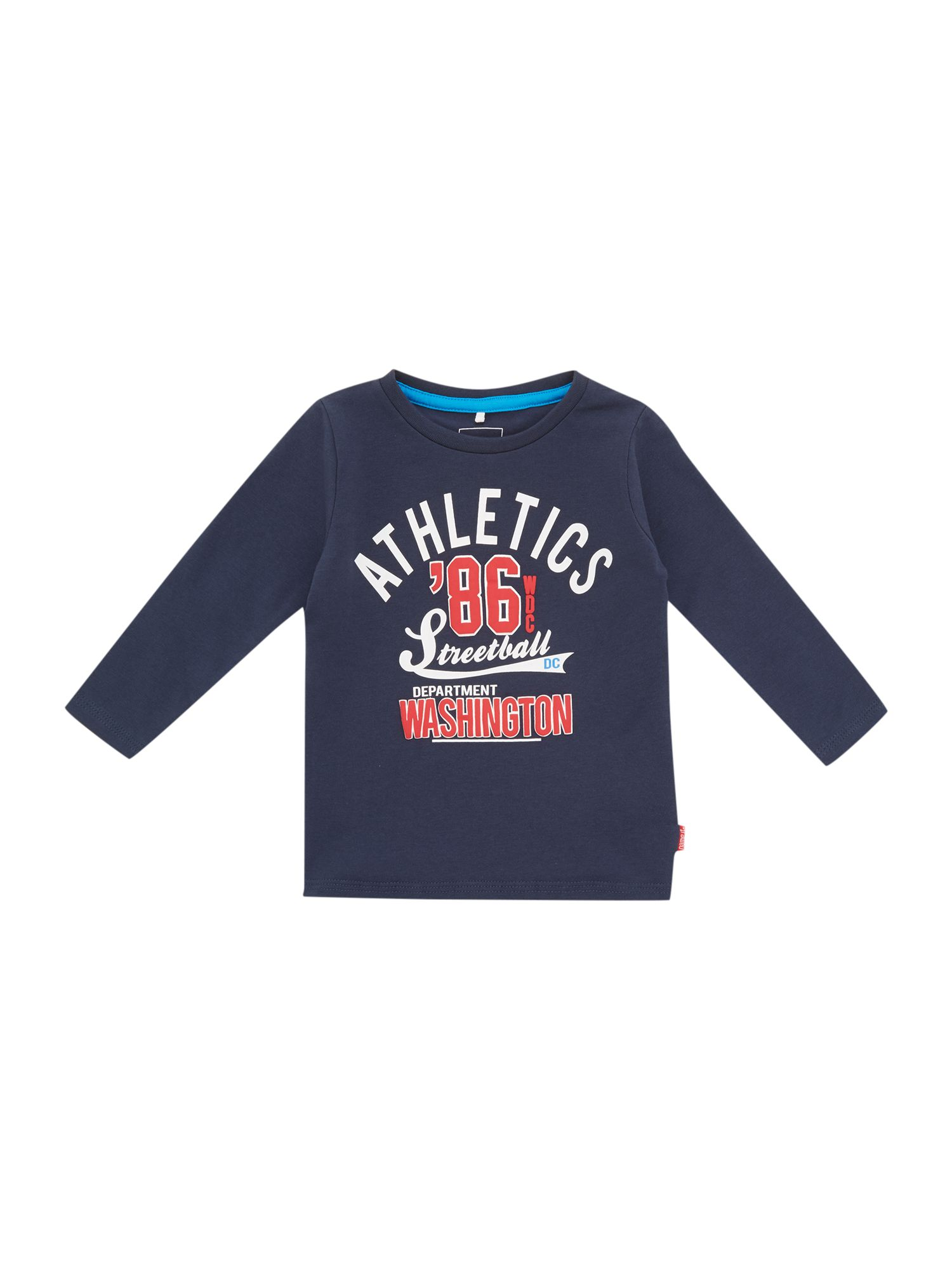Boys athletics print t-shirt