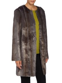 Key Trend Reversible Faux Fur Coat