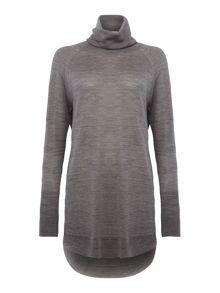 Part Two Deluxe Knit Roll Neck With Shaped Hem