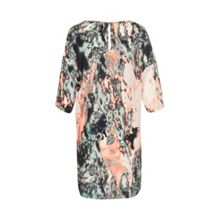 Soaked in Luxury Printed colorful dress