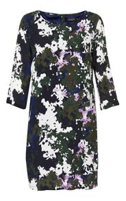 Soaked in Luxury Camouflage Printed Dress