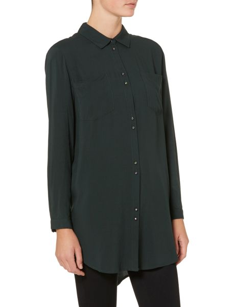 Soaked in Luxury Shirt-Dress with pockets and buttons