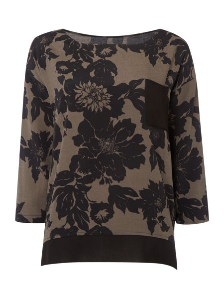 Soaked in Luxury Floral Printed Top