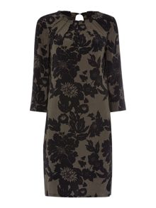 Soaked in Luxury Floral Printed Dress