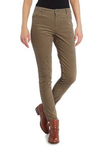 Part Two Slim Fit Pants In Soft Corduroy
