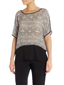 Part Two Top With Drop Shoulders