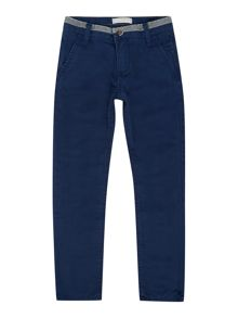 Boys regular slim leg chino trouser