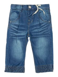 Girls Cuffed Denim Jeans
