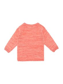 Girls Space Dye Knit Jumper