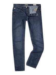 Dark Wash Low Rise Jeans