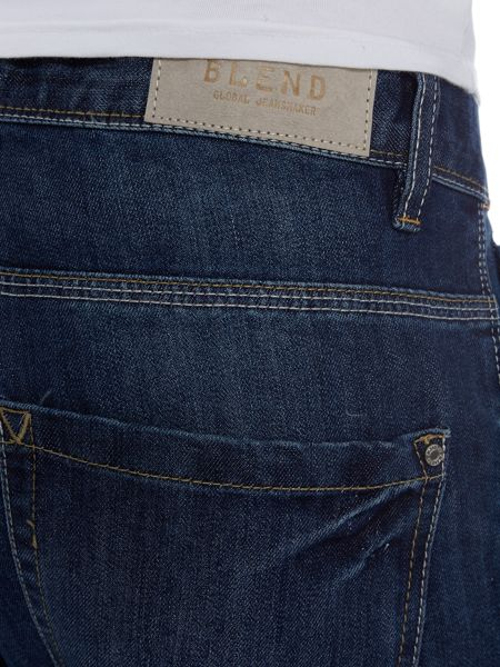 Blend Dark Wash Low Rise Jeans