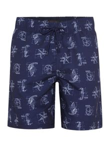 Casual Friday Drawstring Swimming Shorts