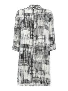 InWear Fria check shirt dress