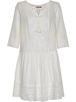 Cotton Peasant Style Dress